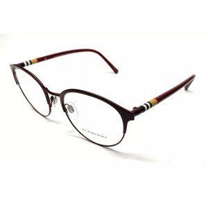 Burberry Men's Matte Bordeaux Eyeglasses!